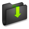 Downloads-Black-Folder-icon